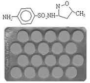 таблетки бисептол и химическая цепочка