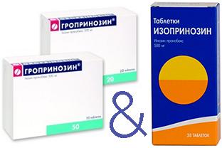 гропринозин и изопринозин