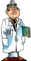 лор врач - рисунок