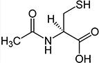 химическая формула ацетилцистеина