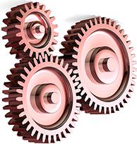 механизм действия шестеренки