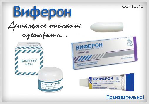 Виферон - детальное описание препарата