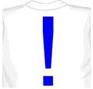 восклицательный знак на футболке