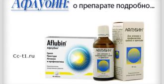 Афлубин подробное описание препарата