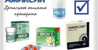 Амиксин - детальное описание препарата, познавательно