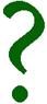 зеленый вопросительный знак