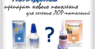 Полидекса - препарат нового поколения для лечения ЛОР-патологий