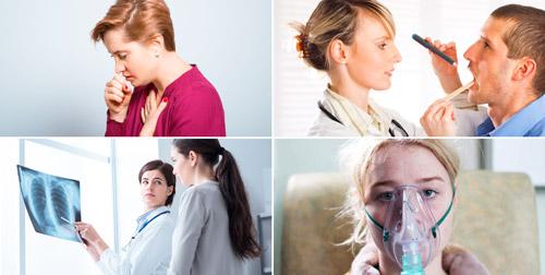 заболевания дыхательных путей: бронхит, ларинготрахеит, пневмония, муковисцидоз