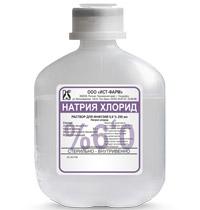 раствор Натрия хлорид