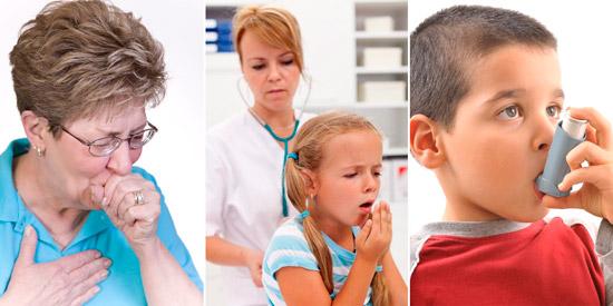 болезни которые лечет Бромгексином: бронхит, воспаление легких, бронхиальная астма
