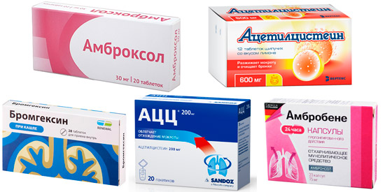аналоги Бромгексина Берлин Хеми: Бромгексин, Амброксол, Амбробене и др.