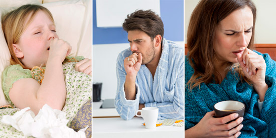 заболевания дыхательных путей, грипп и бронхит