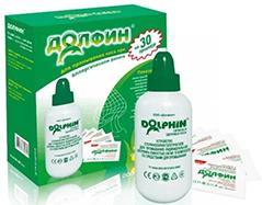 зеленый долфин с травами