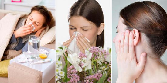 болезни которые лечат Галазолином: ОРЗ, насморк при аллергии, отит