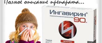 Ингавирин - полное описание препарата
