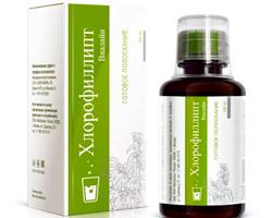 Хлорофиллипт противомикробный препарат
