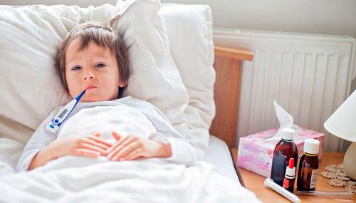 простуда и температура у ребенка