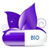 сине-белая капсула с пробиотиком