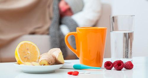 лечение простуды дома