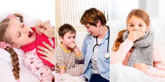 заболевания верхних дыхательных путей у ребенка