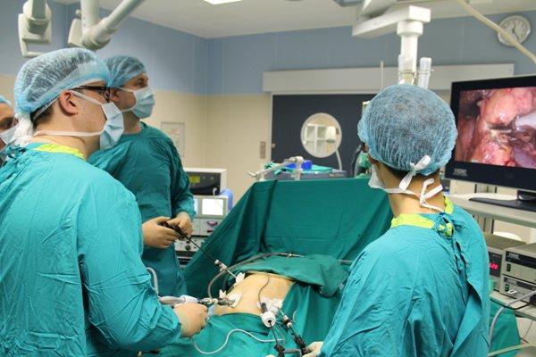 лапароскопическая операция на печени