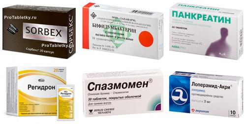 рекомендованные препараты для лечения воспаления кишечника