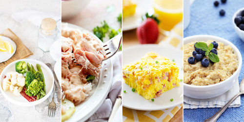 примеры рекомендуемых блюд при гастрите