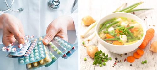 рекомендуемое лечение: медикаментозная терапия и диета