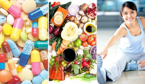 комплексное лечение: лекарства, диета, здоровый образ жизни