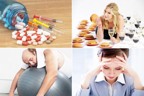 факторы, провоцирующие обострение заболевания