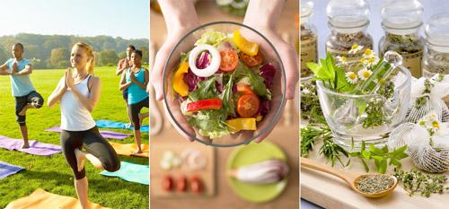 смена образа жизни и питания, народная медицина для снижения тяжести после еды