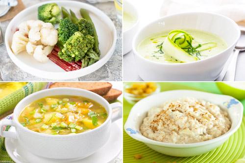 пример рекомендованных блюд при лечении ЖКБ