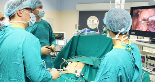 закрытая лапароскопическая операция