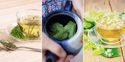 рекомендуемые отвары из липы, хвоща и смеси листьев при лейкоцитозе