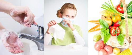 меры профилактики заражения гриппом