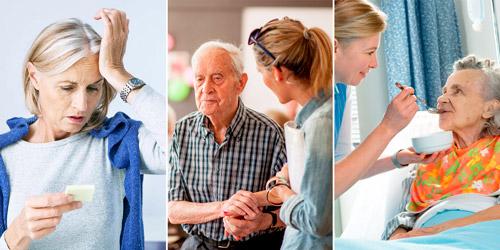 симптомы прогрессирования альцгеймера