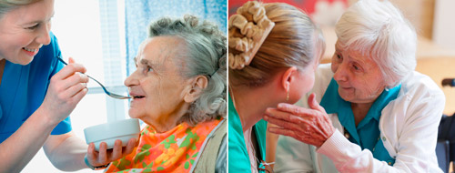уход за пожилыми больными с деменцией