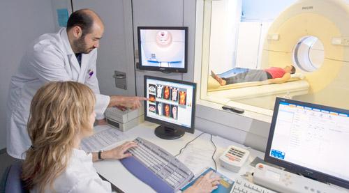 диагностика пациента с помощью МРТ
