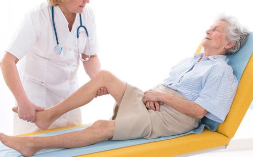 пациент на приеме у ревматолога