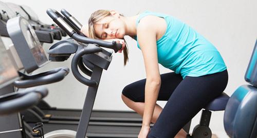 усталость после физической нагрузки
