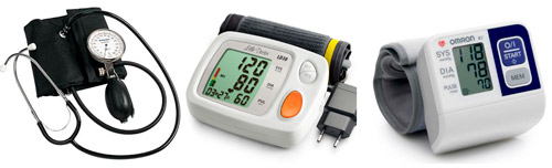 различные аппараты для измерения давления