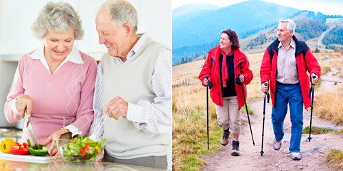 здоровое питание и активный образ жизни