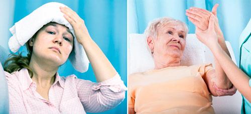 этапы развития герпетического энцефалита