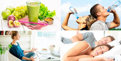 рекомендации для ведения здорового образа жизни