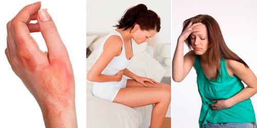 провокаторы гипергемоглобинемии: ожоги, кишечные инфекции, интоксикации