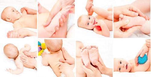 массаж для маленького ребенка