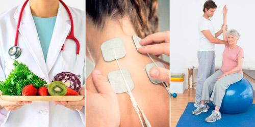 методы реабилитации: диета, физиотерапия, лечебная гимнастика