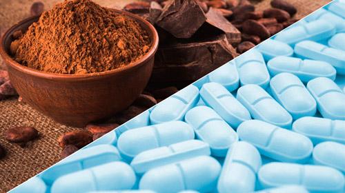 какао и антибиотики