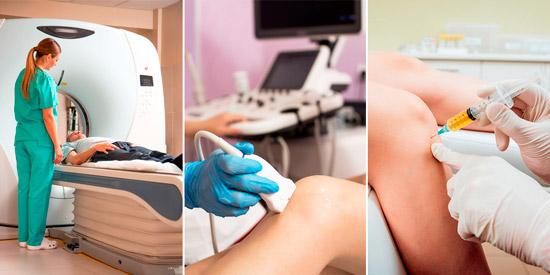 методы диагностики суставов: МРТ, УЗИ, пункция внутрисуставной жидкости