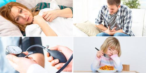 возможные симптомы повышенного белка: лихорадка, боли в животе, перепады артериального давления, слабость и отсутствие аппетита